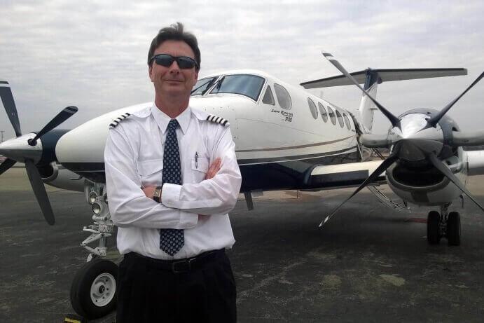 Privatfly i USA med norsk pilot
