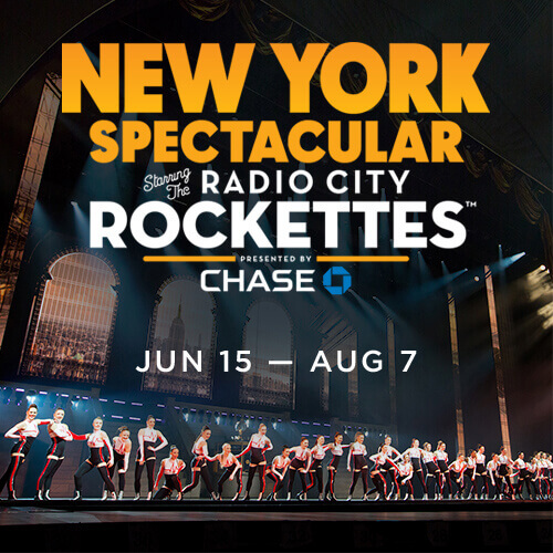 New york spectacular rocettetes billetter