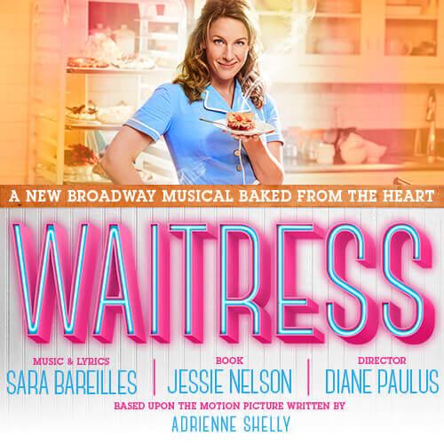 Waitress broadway billetter