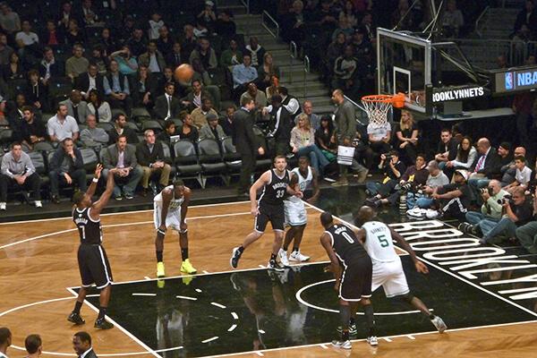 New york opplevelser basketball