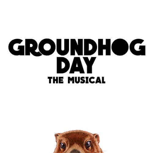 Groundhog day broadway billetter